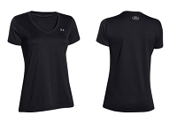Under Armour Womens Training Tech V Neck